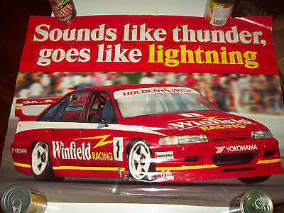 Holden Winfield Racing team Advertising colectables