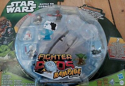 Star Wars Fighter Pods Rampage Game/Geonosis Arena/Hasbro/Neuware