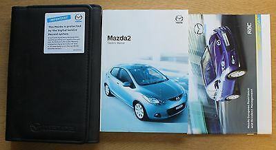Mazda 2 Handbook Owners Manual Wallet 2007-2010 Pack 11566