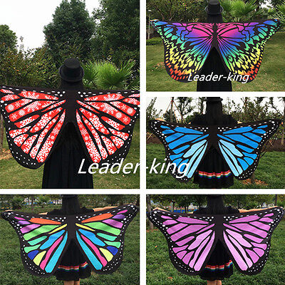 Fashion Womens Ladies Scarf Butterfly Wing Soft Wrap Long Shawl Scarves Scarf