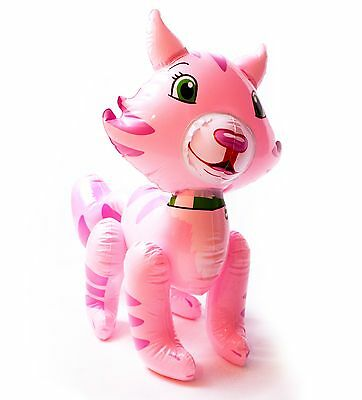 Huge Inflatable Pink Cat, great for parties, gifts and presents