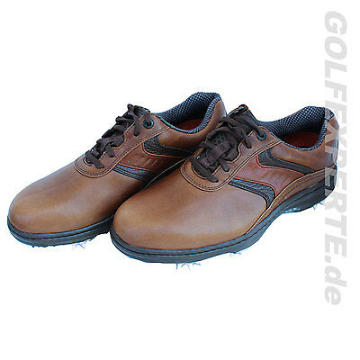 Footjoy Golf Hombre Zapatos De Golf Contorno Series Marrón Impermeable