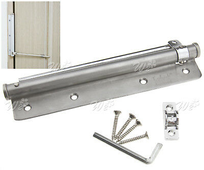 Steel Adjustable 20-40Kg Surface Mounted Auto Closing Door Closer Fire Rated
