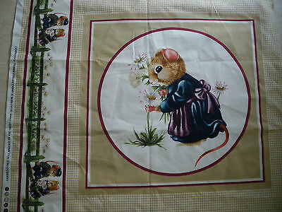 fabric cushion panel/crafting/sewing/quilting/children's fabric