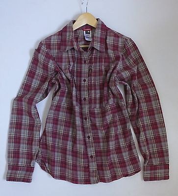 Women's North Face Long Sleeved Lumberjack Style Shirt Large. New.