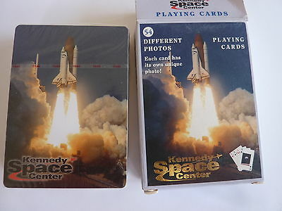 kennedy space center SINGLE DECK GENUINE VINTAGE PLAYING CARDS Poker Size