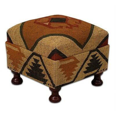 Silkroute STO4035  Harvey Wool Jute Stool