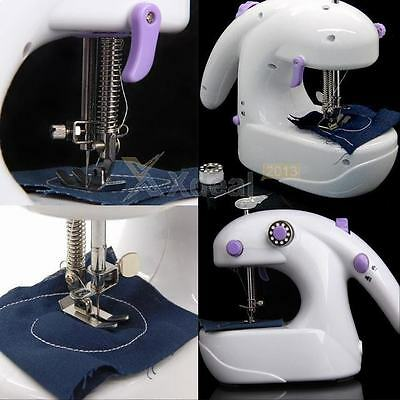 New Portable Mini Handheld Electric Sewing Machine Desktop Home Household Sewing