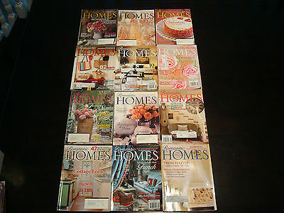 12 Romantic Homes Decorating Magazines Lot #8 **great Decorating Ideas**