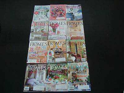 12 Romantic Homes Decorating Magazines Lot #1 **great Decorating Ideas**