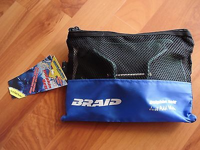 **Brand New** BRAID Dolphin Carbon Fibre Jigging Gimbal Belt With Pin