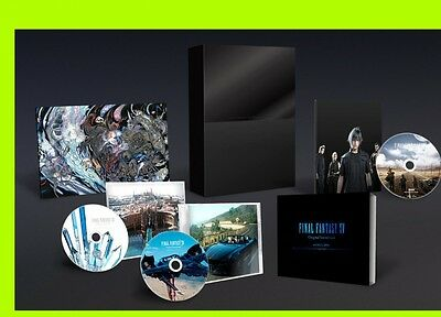 FINAL FANTASY XV Original Soundtrack CD Bluray Japan Square Enix First