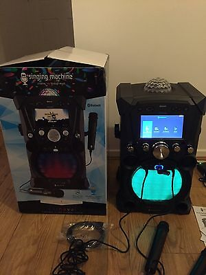 NEW (Ex Display) Singing Machine SDL9035 Carnaval Karaoke System