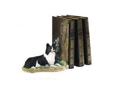 Border Fine Arts The Border Collie Collection Keeping Watch Bookend A7937 Boxed