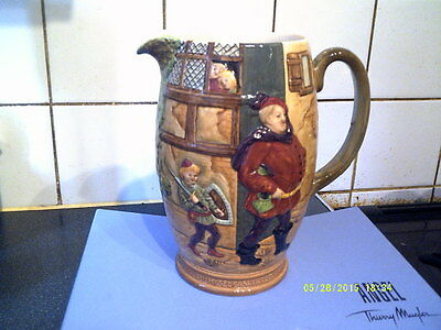 Vintage Large Beswick Jug,merry Wives Of Windsor,fallstaff,skirted Page Etc.