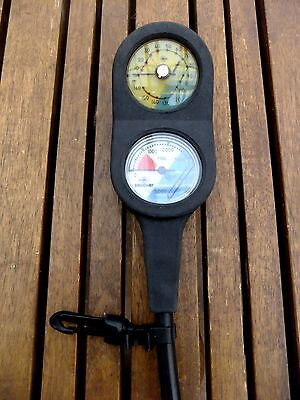Scuba diving imperial Beuchat gauge set.