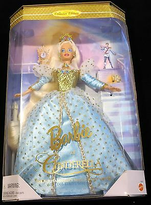 1996 Cinderella Barbie Collector Edition Mint in Package