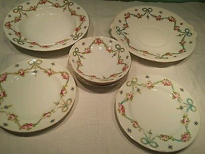 Crown Staffordshire china plates