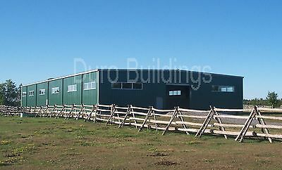 DuroBEAM Steel 100x100 Metal Building Kit Horse Riding Arena Structure DiRECT