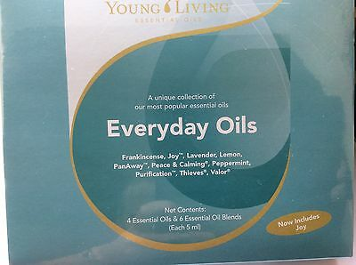 Young Living EVERYDAY OILS includes VALOR AND PEACE & CALMING