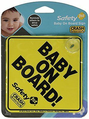 """Baby On Board"" Car Window Sign, 2 Count"