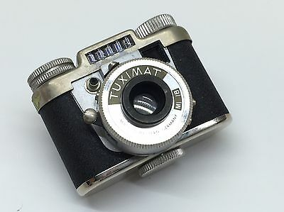 Tuximat 14X14MM SUBMINIATURE CAMERA, Great Condition