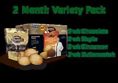 New Dr. Siegal's COOKIE DIET     2 Month Variety Pack
