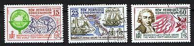 New Hebrides 1968 Bicentenary of Bougainville's Voyage - Used