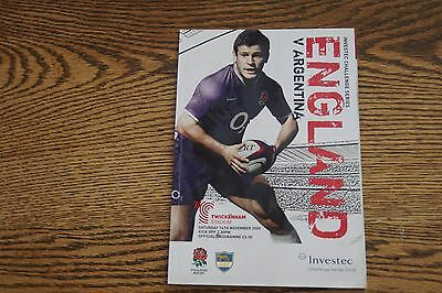 England rugby programme
