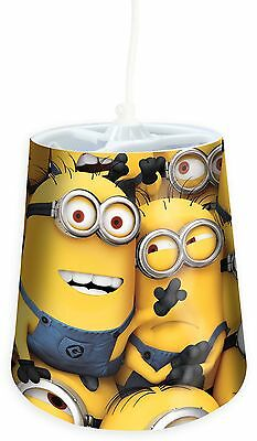 Childrens Minions Bedroom Pendant Tapered Shade