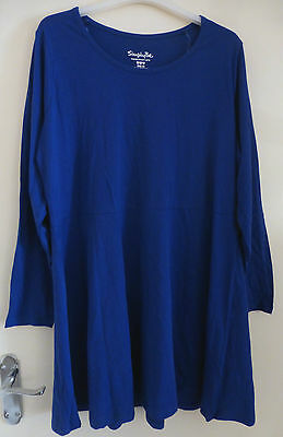 Brand New,Cobalt Blue,Women's Stylish Skater Dress, Size 20,