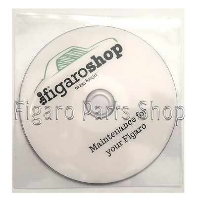 Nissan Figaro Maintenance Guide and Tutorial CD