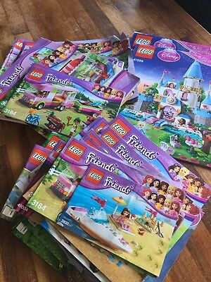 Large Collection Of Lego Instruction Books