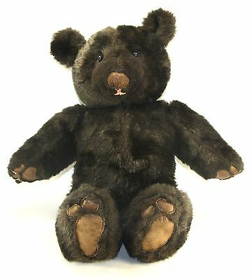 """Gilbert - Large 23"""" Original Hand Made OOAK Teddy Bear - Leather Padded Paws"""