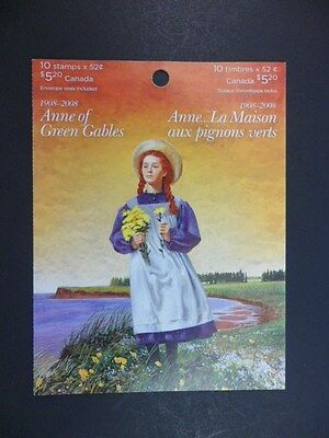 Canada Anne of Green Gables Stamp Booklet Mint