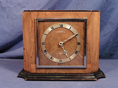 Vintage British Elliott 8 day clock - working