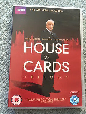 House Of Cards Trilogy (DVD, 2013, 3-Disc Set)