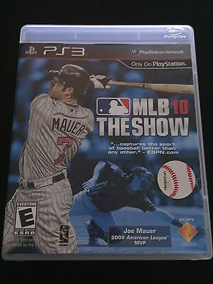 MLB 10 The Show PS3 Sony PlayStation 3