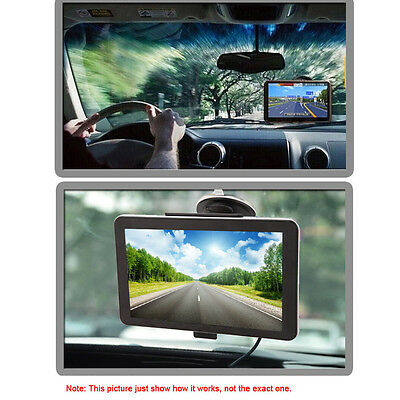 Portable 5inch Car GPS Navigation Vehicle Navigator Touch Screen with Free Map