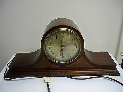 Vintage Revere Westminster Chime Telechron Motored Electric Clock Tested