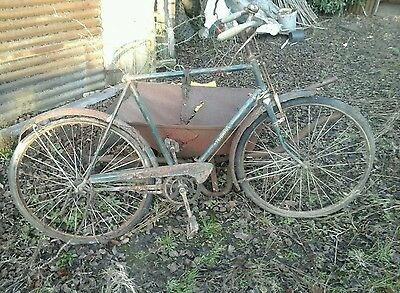 old triumph bicycle