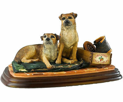 Border Fine Arts Border Terrier Collection Eager To Go A20864 New & Boxed
