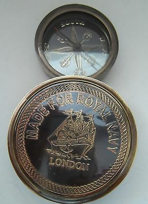 Curious Compasses    Made for Royal Navy