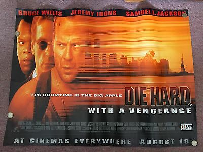 Cinema Poster: DIE HARD WITH A VENGEANCE 1995 Bruce Willis RARE