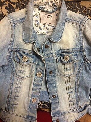 Next Girls Denim Jacket 2-3 Years