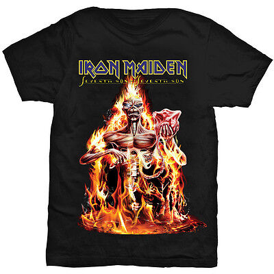 IRON MAIDEN Seventh Son Of A Seventh Son Album T-Shirt NEW OFFICIAL All Sizes