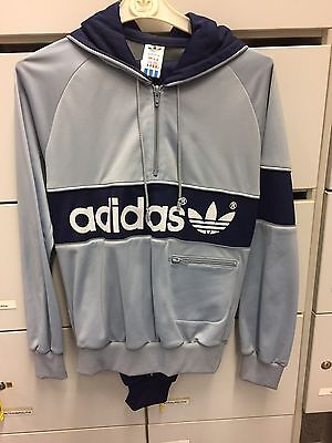 Vintage Adidas Track Suit. Made In Hungaria Size US S Never Worn. 1980's/90's.
