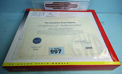 HORNBY 'OO' GAUGE R2196M 'THE CAMBRIAN COAST EXPRESS' TRAIN PACK BOXED #997b