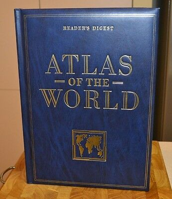 Reader's Digest Atlas of the World 1990 History & Map Atlas From Big Bang to ...