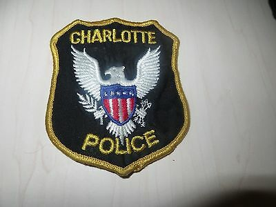 Embroidered Charlotte South Carolina Police Patch